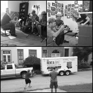 8/5/13 Video Shoot ~ Layfaette Square